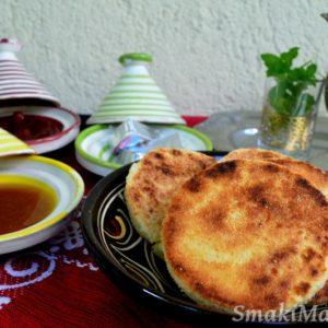 Harcha – okrągłe chlebki marokańskie z semoliny