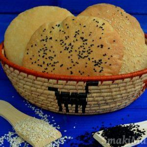 Khobz, marokański chlebek pszenny