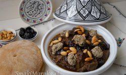 wołowina po marokańsku, kuchnia marokańska, blog