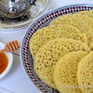 Baghrir, marokańskie naleśniki z dziurkami (wegańskie)