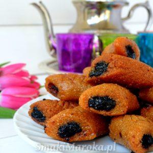 Makrout - marokańskie smażone ciasteczka z daktylami