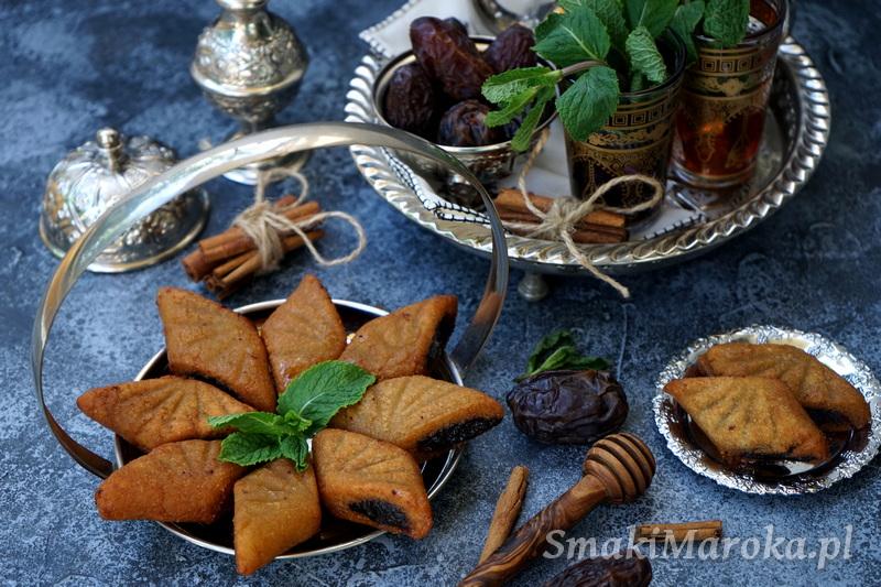 marokańskie ciasteczka, moroccan cookies, dates cookie
