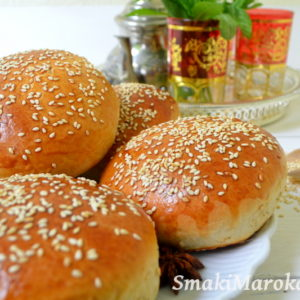 Krachel - marokańskie brioszki (brioche)