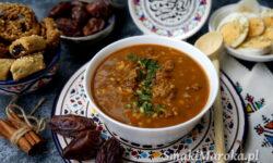 harira, moroccan soup, zupa marokańska, kuchnia marokańska, kuchnia arabska, ramadan, zupa z wołowiną, cuisine marocaine