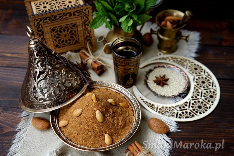 sellou, sfouf, mix energetyczny, przepisy marokańskie, kuchnia marokańska, ramadan, cuisine marocaine