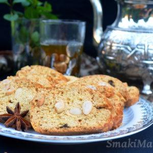 Fekkas - marokańskie ciasteczka w stylu cantuccini