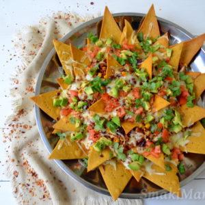 Domowe nachos zapiekane z chilli con carne i serem