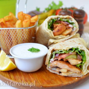 Shawarma z kurczakiem