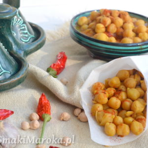 Tayeb o hari  – marokańska przekąska z ciecierzycy