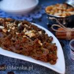 Tfaya - karmelizowana cebula po marokańsku