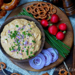 Obazda - bawarska pasta serowa
