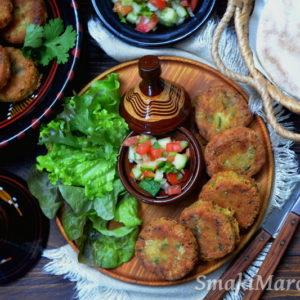Maakouda z tuńczykiem (marokańskie placki ziemniaczane)
