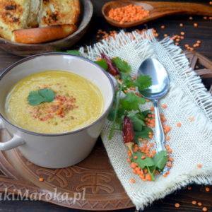 Zupa krem z czerwonej soczewicy