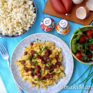 Eiernockerln – austriackie kluski z jajkiem