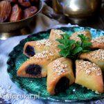 Makrout - marokańskie ciasteczka z daktylami (pieczone)