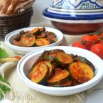 Marokańska sałatka z cukinii