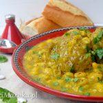 Marokańska loubia z wołowiną