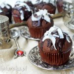 Muffiny czekoladowo-kokosowe