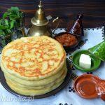 Mkhamer - marokański chleb z patelni
