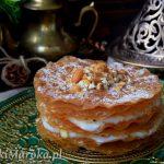 Marokańska jawhara (mleczna pastilla)