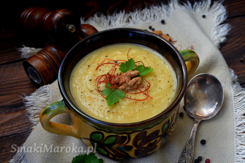 zupa z pasternaku, zupa krem, pasternak,