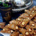 """Marokańskie ciasteczka sezamowe """"babouche"""""""