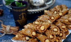 moroccan cookie, ciasteczka marokańskie, sezamowe, halwa marocaine