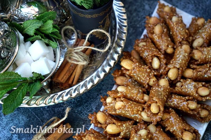 babouche marocaine, ciasteczka marokańskie, ramadan, ciastka arabkie