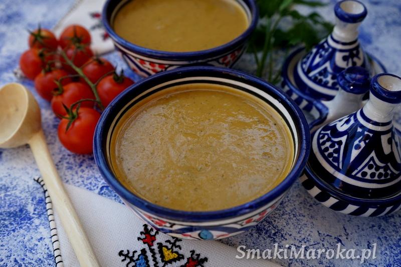 chorba aux legumes, cuisine marocaine, kuchnia marokańska