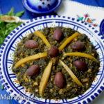 Bakoula - marokańska sałatka ze szpinaku