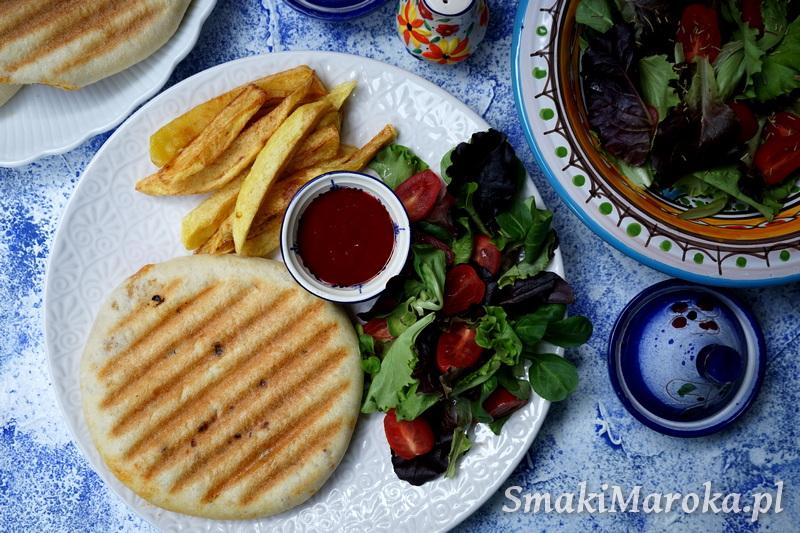 cuisine marocaine, batbout, kuchnia marokańska, panini