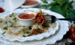 pierogi inaczej, kefta, kuchnia marokańska, pierogi przepis