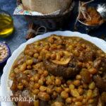 Hargma - noga wołowa w sosie po marokańsku