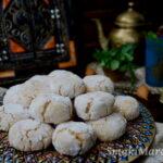 Marokańskie ciasteczka migdałowe ghriba
