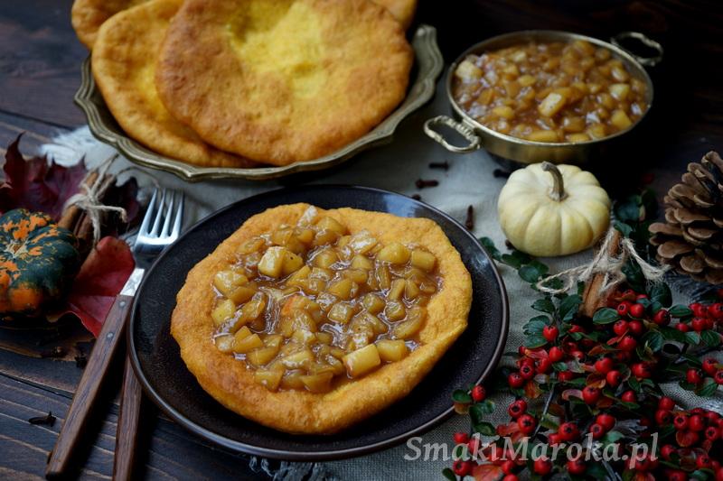 langos, langosze, ciasto dyniowe, co zrobić z dyni, langos inaczej, smaki maroka, blog, jesienne przepisy