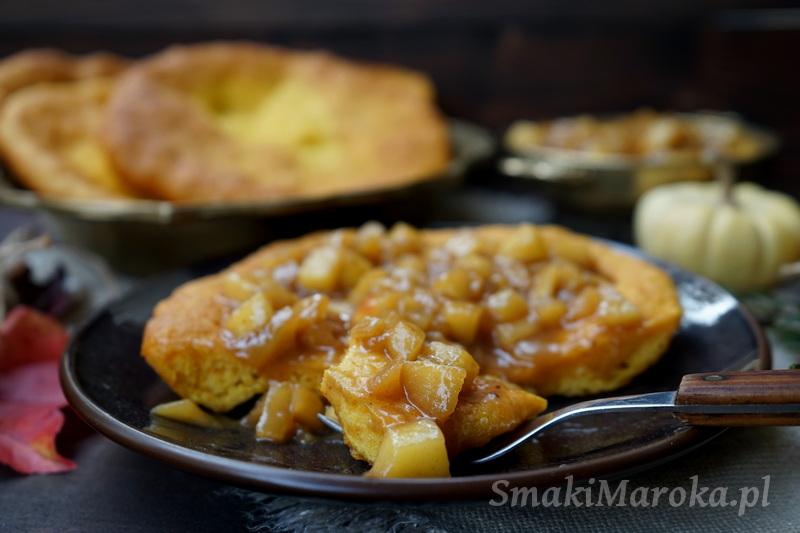 langos, przepisy z dynią, langos na słodko, kuchnia węgierska, wykorzystanie dyni