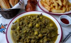 żołądki w sosie, kuchnia marokańska, żołądki drobiowe przepis, podroby przepis, żołądki po marokańsku