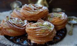 przepisy na karnawał, kuchnie świata, kuchnia afgańska, qatlama, oponki, ciasto drożdżowe, smażone drożdżowe,