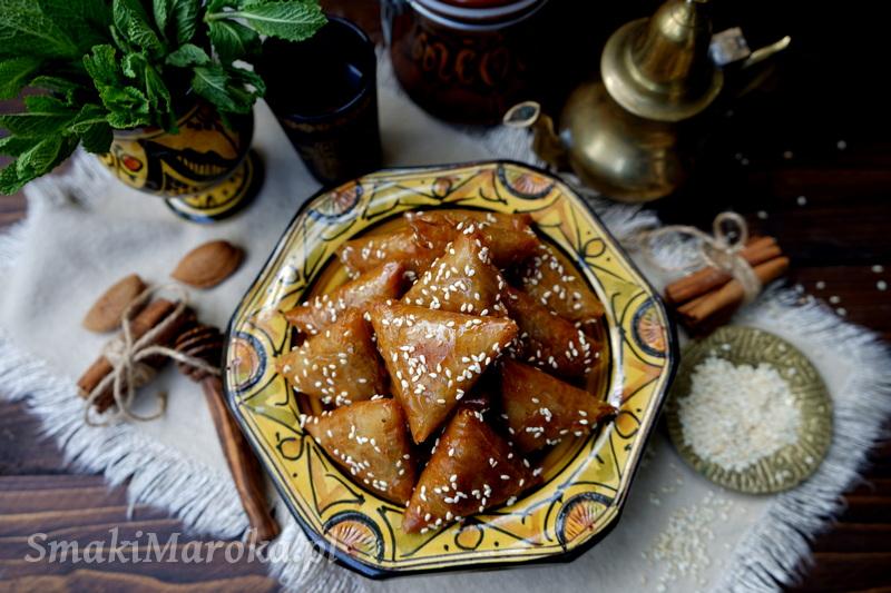 kuchnia arabska przepisy, kuchnia marokańska przepisy, marokańskie ciasteczka, cuisine marocaine, moroccan food, briwats,