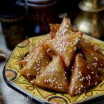 Marokańskie ciasteczka briwats z migdałami
