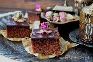 Basboussa czekoladowa z semoliną
