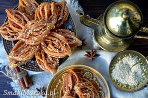 Bouchnikha marokańskie smażone ciasteczka
