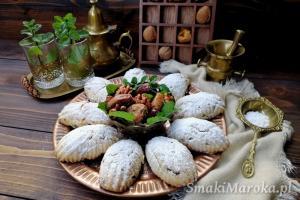 Arabskie ciasteczka z bakaliami