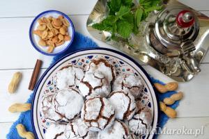 Marokańskie ciasteczka orzechowe ghriba