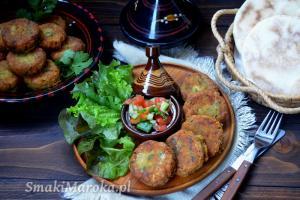 Maakouda z tuńczykiem - marokańskie placki ziemniaczane