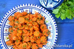 Khizou mchermel - marokańska sałatka z marchewki