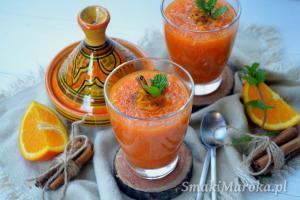 Marokańska sałatka z marchewki i pomarańczy