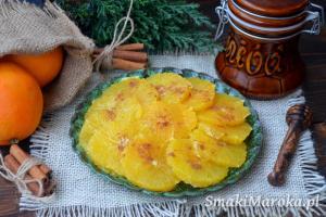 Marokańska sałatka z pomarańczy