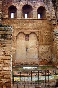 Grobowce, Chellah, Rabat