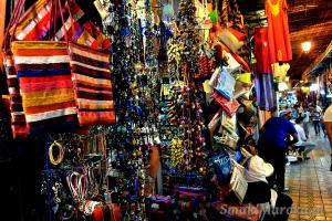 Souk, Marrakesz plac Jemaa el-Fnaa